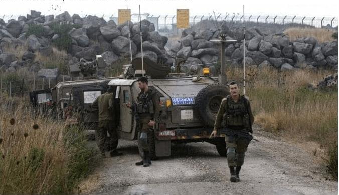 تله های انفجاری سوری-ایرانی در مرز اسرائیل