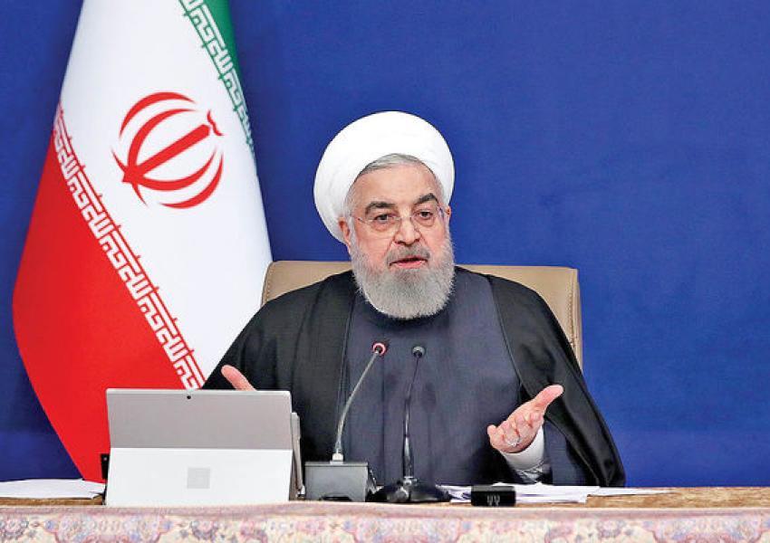 """روحانی: بایدن باید """"آشکارا"""" سیاست های ترامپ در ایران را محکوم کند"""