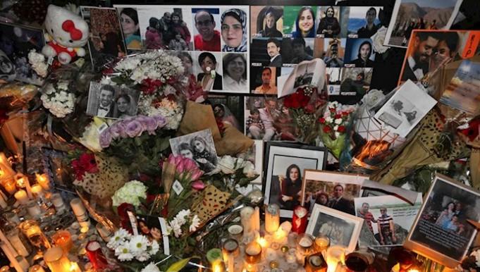 انجمن خانواده های قربانیان هواپیمای اوکراینی رژیم ایران: قاتل نمی تواند تسلیت باشد