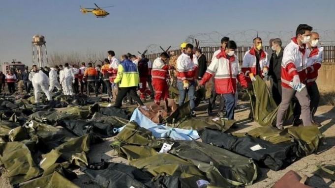 جانباختگان هواپیمای اوکراینی