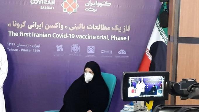 اولین داوطلب دریافت واکسن کرونای ایرانی
