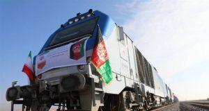 افتتاح راه آهن خواف-هرات با حضور آنلاین روسای جمهوری ایران و افغانستان