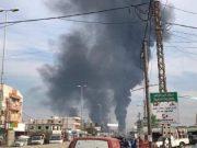 ادامه آتش سوزی نشت نفت در جنوب غربی ایران ، مردم را تحت تأثیر قرار داده است
