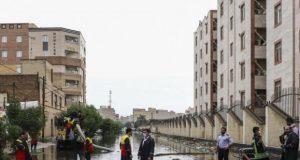 بار دیگر ... فاضلاب در خیابانهای اهواز ، جنوب غربی ایران