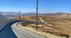 تکمیل ساخت دیوار مرزی ترکیه با ایران