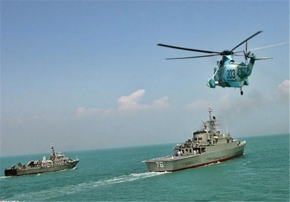 آغاز رزمایش موشکی نیروی دریایی ارتش ایران در دریای عمان