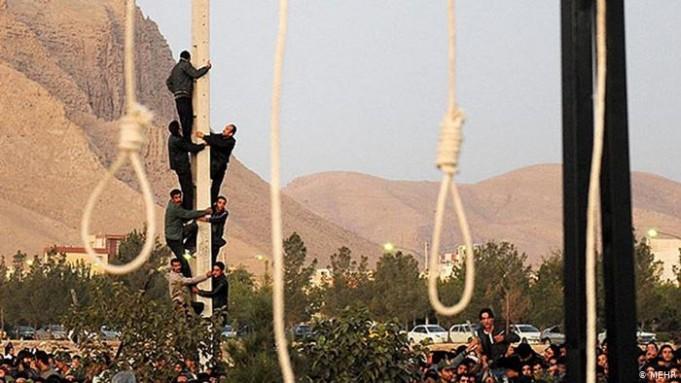 اعدام دو زندانی