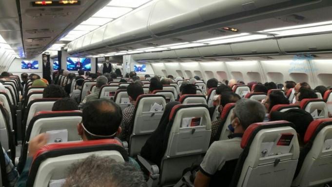 وزیر راه به درخواست افزایش ۶۰٪ استفاده از صندلی های هواپیمایی اعتراض دارد
