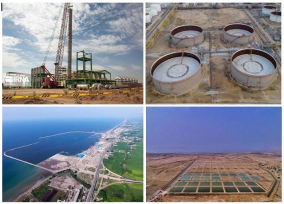 افتتاح ۶۱ طرح در مناطق آزاد تجاری و صنعتی در ۶ استان