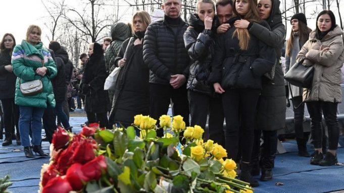 خانواده قربانیان هواپیمای اکراینی