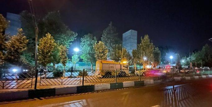 انفجار تهران