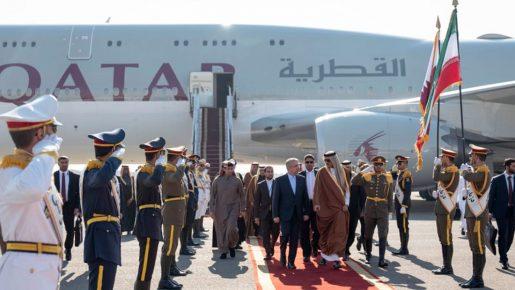 سفر مخفیانه امیر قطر به ایران