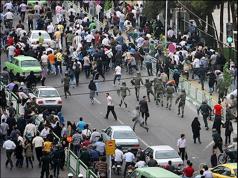 خیزش مردم تهران